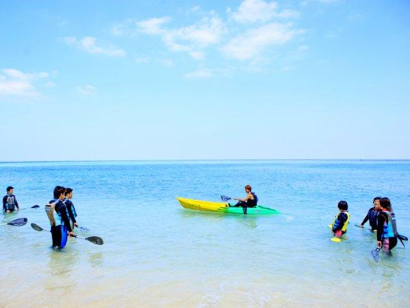 沖縄本島(恩納村) シーカヤック