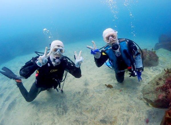 熱海 体験ダイビング