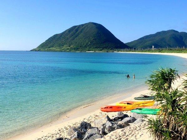 伊平屋島 シーカヤック