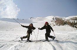 白馬 歩くスキー