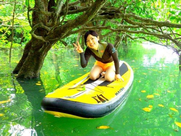 石垣島 マングローブSUP