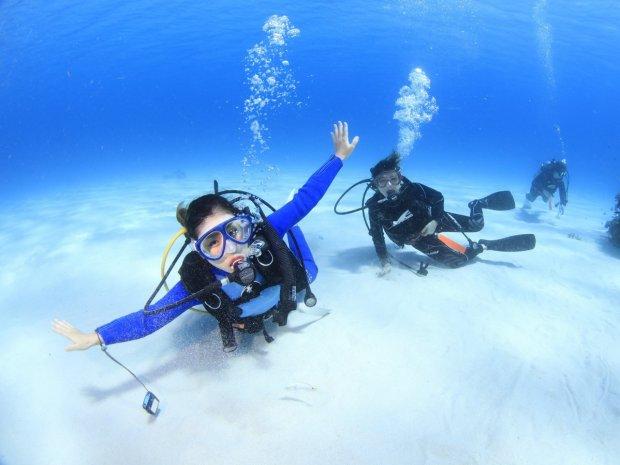 渡嘉敷島 体験ダイビング