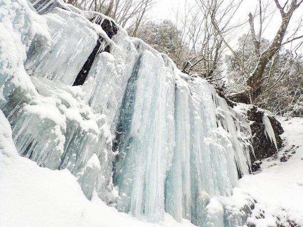 大峰アイスガーデン 氷瀑トレッキング