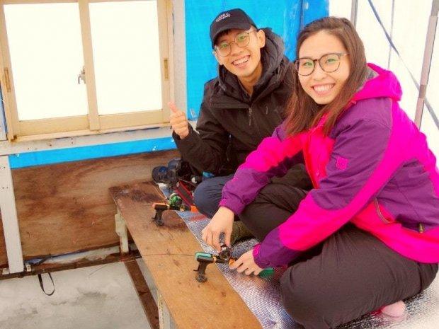 南富良野(かなやま湖) ワカサギ釣り