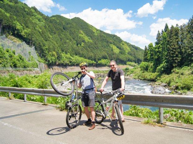 郡上 サイクリング