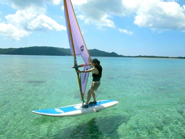 奄美大島 ウィンドサーフィン
