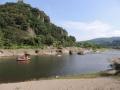 川から見える景色もとても綺麗です。