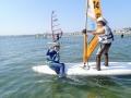 小・中学生限定ジュニアコースあり!(※毎週日曜日) セブンシーズでは、ウインドサーフィンを通じて、海遊びのすばらしさ、大自然にふれあう感動を多くの子どもたちに伝えています。