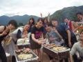 ●BBQも楽しめる(有料)!牛肉、鶏肉、豚肉、ウインナー、野菜、やきそば、魚介、アイス ボリューム満点!