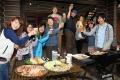 ボリューム満点!BBQオプション!新設ログハウスのテラスで緑に囲まれて、お腹いっぱいになってください!