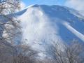 高鷲の裏山『大日ヶ岳』様々な斜面があり、未経験者から上級者まで楽しめます。