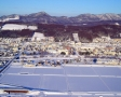 気球からは富良野の街が一望できます!上空から見下ろす、ミニチュアのような街並は感動!
