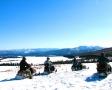 見渡す限りの白銀の雪原!どこまでも走り回ることができます。