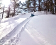 ただ歩くだけじゃない!滑り台やジャンプ台など、子供だけでなく大人も子供の頃に帰って遊べます!