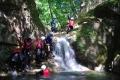 滝をよじ登ったり、滝壺にダイブしたり・・・アクティブ派も大満足 !!!