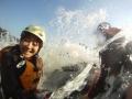 豊富な水量が生み出す大きなウェーブと壮大な景色が魅力の、冒険型ラフティングが楽しめます!