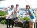 ●施設内に、海を見ながら楽しめる「炭火BBQガーデン」あり。◆2,700円/1人
