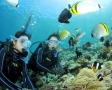《水中カメラ無料レンタル》:全てのツアーで水中撮影可能なデジタルカメラを無料でレンタルしています。