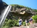 カヤックとジャングルトレッキングで大迫力の滝を目指そう
