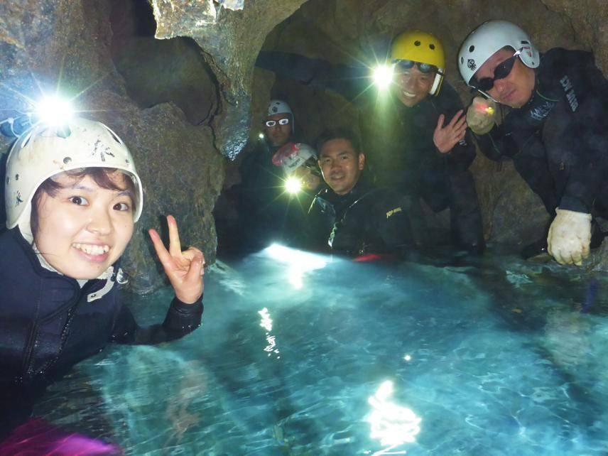 奈良ケイブスイミングツアー