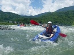 富士川上流ラフティングツアー