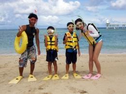 沖縄本島・ブセナ体験ダイビング&シュノーケリング