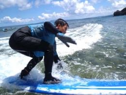 沖縄本島・恩納村サーフィン