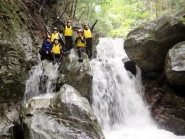 祖谷渓シャワークライミングツアー
