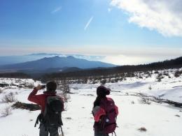 富士山 スノーシューツアー