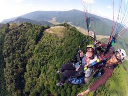 岩屋山パラグライダー
