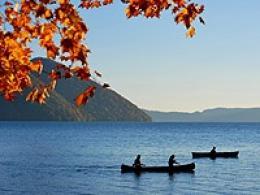洞爺湖カヌーツアー(カヤック)