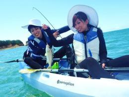 沖縄本島 有銘湾 シーカヤック&カヤックフィッシング