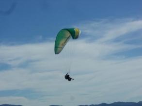 標高300mからのテイクオフ(離陸)!!上空から眺める景色は圧巻です。