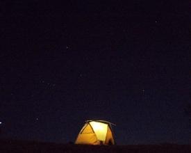 冬の上高地でスノーキャンプ!静寂の上高地で満天の星空観察、朝焼け&夕焼け穂高連峰を楽しめるのはこのコースだけ!