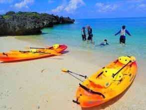 途中にはビーチに上陸して休憩タイムもあり!