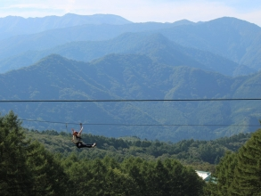 谷川連峰を眺めながら勢いよく滑ろう!