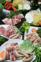 ●【BBQパック】肉、鶏肉、ソーセージ(お肉とソーセージで1人420g)、野菜、富士宮焼きそば、ボリューム満点!