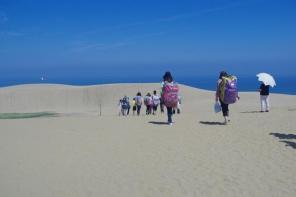 見わたす限り砂・砂・砂!ぶつかるものがないから、初心者でも安心です