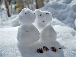 雪遊びも満喫!かわいい雪だるまを作っちゃおう!