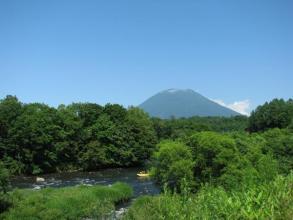 絶景ポイント!天気がよいと羊蹄山をバッチリ見ることができますよ。