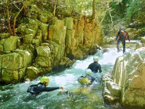 都会からほど近い距離にありながら、自然の渓谷美を見ることができます。