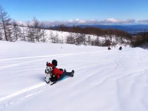 雪遊び道具もいっぱい!