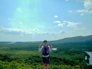 日本最大のマングローブ林『仲間川』の眺め