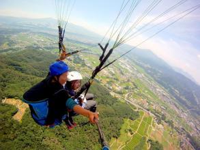 高々度フライトでは赤城山や谷川岳、利根川が一望できる!