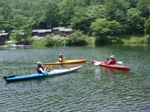 八ヶ岳エリア カヌー・カヤックツアー(湖)