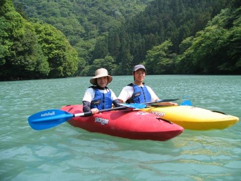 奥多摩(白丸湖) カヌー・カヤックツアー