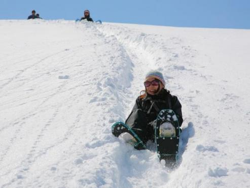 高鷲スノーパーク スノーシュー&スノースライダーツアー